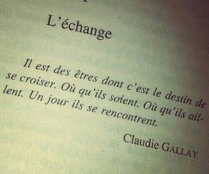 french, citation, and amour image