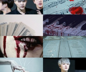 aesthetic, vampire, and bts image