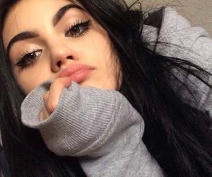 girl, makeup, and tumblr image