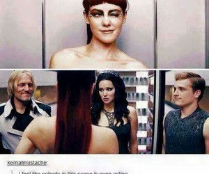 hunger games, funny, and catching fire image