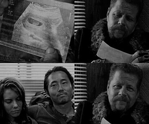 Abraham, Maggie, and twd image