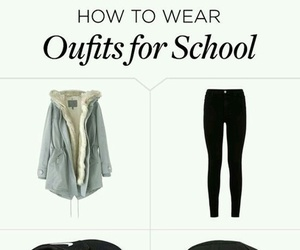 outfits and school image