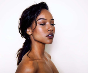 girls, model, and woc image