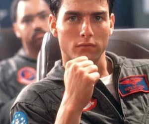 Tom Cruise, 80s, and top gun image