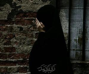 hijab, islam, and muslima image