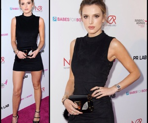 black, style, and bella thorne image