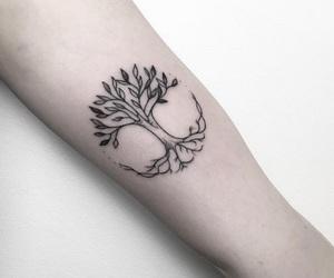 tatoo and tree image