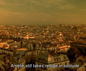 alone, amelie, and film image