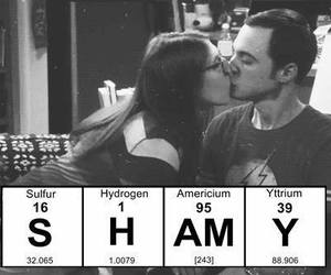 the big bang theory, shamy, and sheldon image