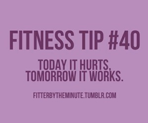 fitness, motivation, and tips image