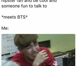 meme, bts, and kpop image