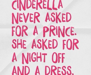 cinderella, quotes, and dress image