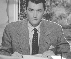 gregory peck, light, and living room image