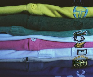 fred perry, stone island, and c.p. image