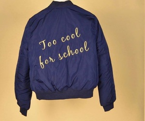 cool, fashion, and school image