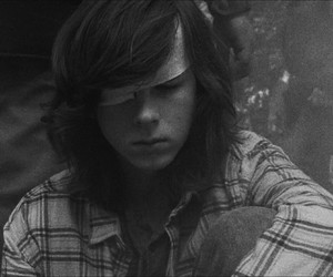 carl, the walking dead, and twd image
