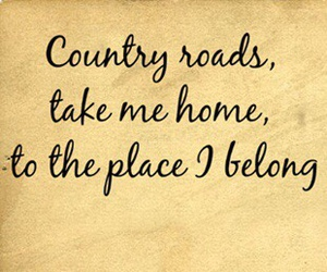 country, home, and Lyrics image