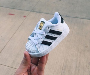 adidas, baby, and shoes image