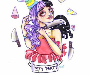 melanie martinez, cry baby, and pity party image