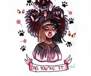 tag you're it and melanie martinez image