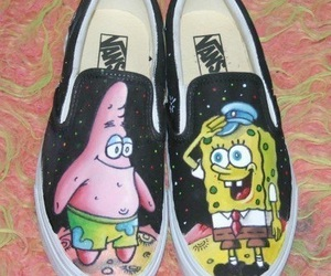 shoes, vans, and patrick image