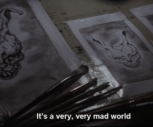 donnie darko, draw, and frank image