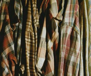 shirt, fashion, and flannel image