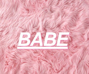 babe and pink image