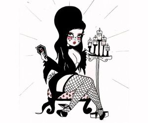 boobs, candles, and Darkness image