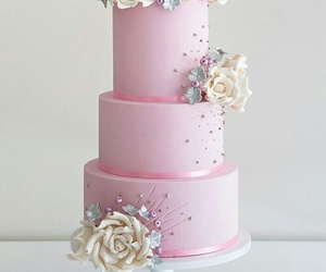 cake, dessert, and rose image