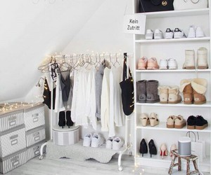 room, shoes, and clothes image