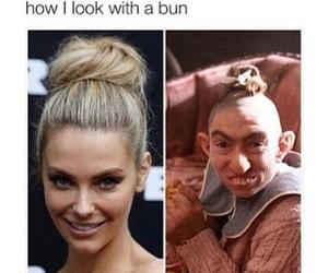 funny, bun, and lol image