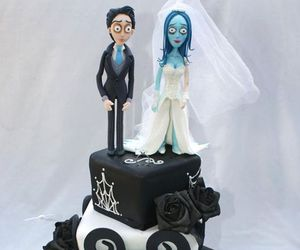cake, food, and wedding image
