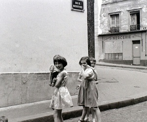 1950s, vintage, and girls image