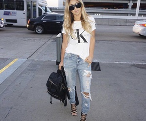 airport, fashion, and spring image