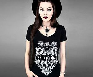 bitchcraft, hipster, and goth image