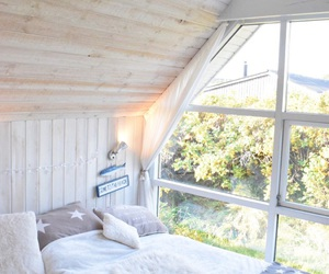 autumn, beach, and bedroom image