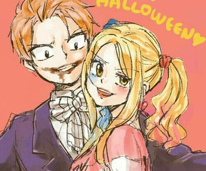 nalu, anime, and Halloween image