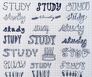 font, school, and study image