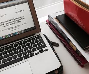 laptop, organisation, and motivation image