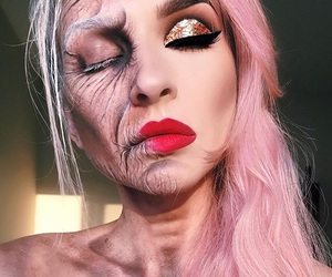 makeup, Halloween, and article image