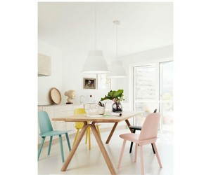 chairs, colorful, and design image