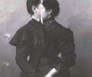 avant-garde, b&w, and victorian image