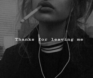 girl, grunge, and quote image
