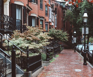 boston, travel, and cityscape image