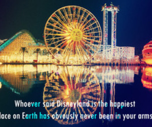 disneyland, photography, and quote image
