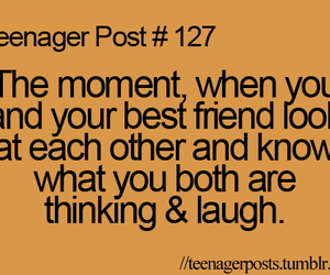 laugh, teenager post, and best friends image