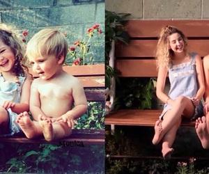 beauty, siblings, and zoella image