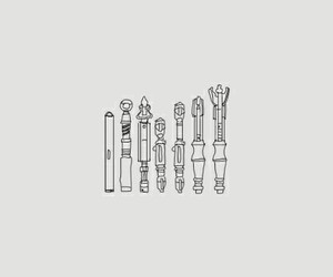 doctor who, doctors, and sonic screwdriver image