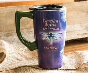 believe, cup, and dragonfly image